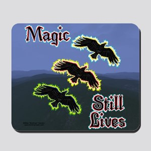 Magic Crows Mouse Pad