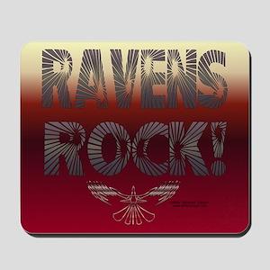 Ravens Rock! Mouse Pad