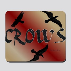 Crows 3 Mouse Pad