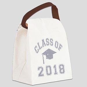 CO2018 Cap Distr Grey Canvas Lunch Bag
