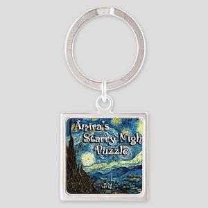 Amiras Square Keychain