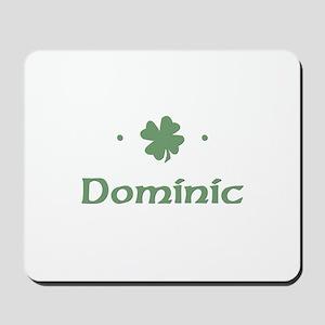 """Shamrock - Dominic"" Mousepad"