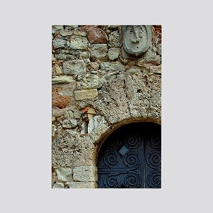 Catalunya. Benedictine monastery  Rectangle Magnet