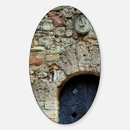 Catalunya. Benedictine monastery of Sticker (Oval)