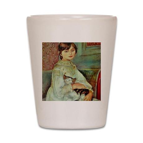 Julie Manet by Renoir Shot Glass