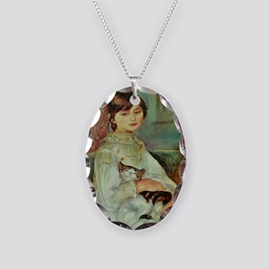 Julie Manet by Renoir Necklace Oval Charm