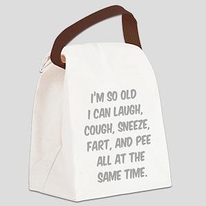 oldTime3 Canvas Lunch Bag