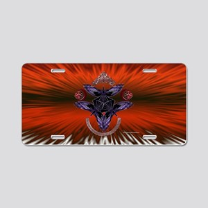Tribal Crows Aluminum License Plate