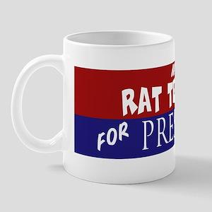 Rat Terrier_ELECTION STICKER Mug