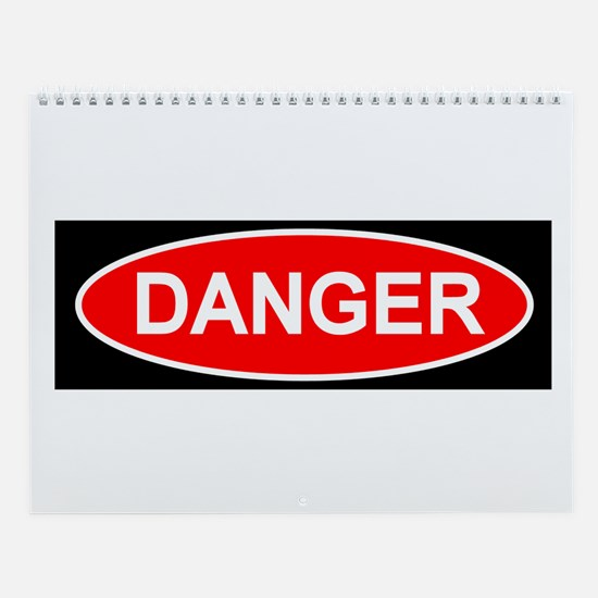 Plain Danger Wall Calendar
