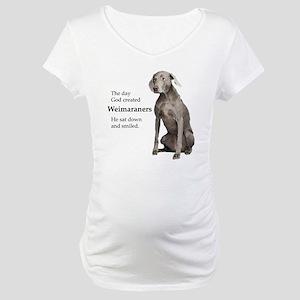 God-WeimLight Maternity T-Shirt