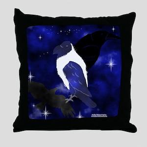 Spirit Ravens Throw Pillow
