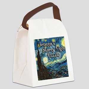 Ariannas Canvas Lunch Bag