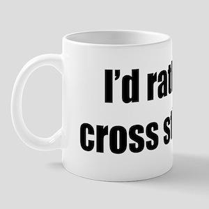 Rather be Cross Stitching Mug
