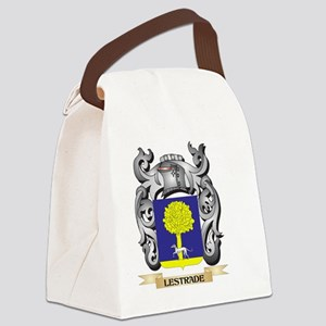 Lestrade Coat of Arms - Family Cr Canvas Lunch Bag