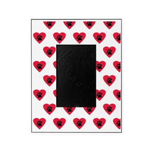 19e31d8dd1c6 Dogs Leave Paw Prints On Your Heart Picture Frames - CafePress