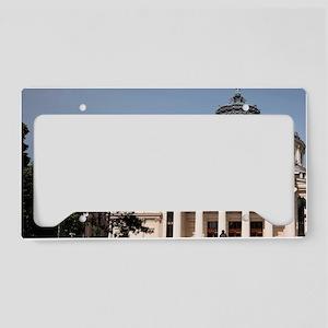 Europe, Romania, Bucharest, R License Plate Holder