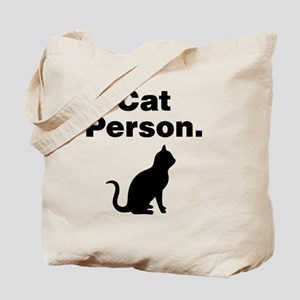 Cat Person. Tote Bag