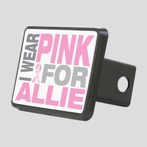 I-wear-pink-for-ALLIE Rectangular Hitch Cover