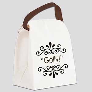 Golly Canvas Lunch Bag