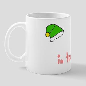 Elf in training light Mug