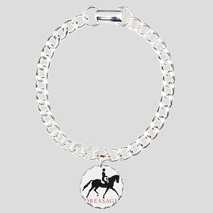 dressage trot with type Charm Bracelet, One Charm