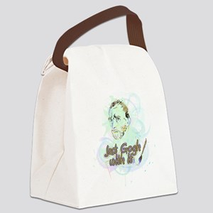 Just Gogh With It Vincent Van Gog Canvas Lunch Bag