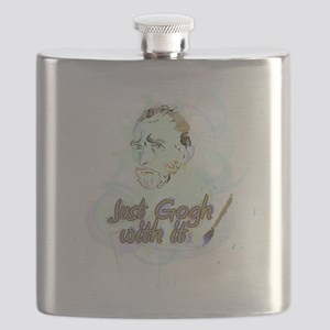Just Gogh With It Vincent Van Gogh Flask