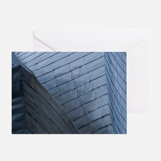 Reflective titanium panelsMuseum des Greeting Card