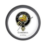 Clan Campbell Wall Clock