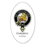 Clan Campbell Oval Sticker