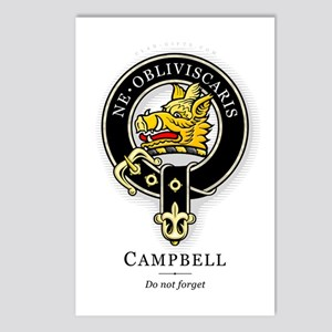 Clan Campbell Postcards (Package of 8)