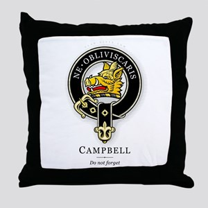 Clan Campbell Throw Pillow