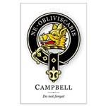 Clan Campbell Large Poster