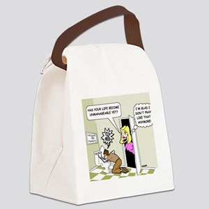 praycolor Canvas Lunch Bag
