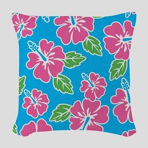 tropical_1_ipads Woven Throw Pillow