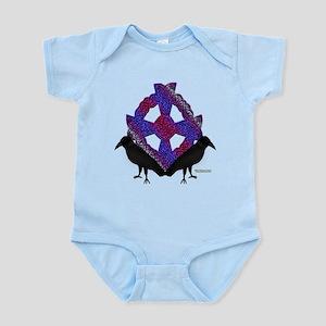 Celtic Crows2 Infant Bodysuit