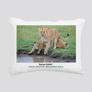 Kenya Cover Rectangular Canvas Pillow