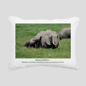 Kenya 2 Cover 2 Rectangular Canvas Pillow