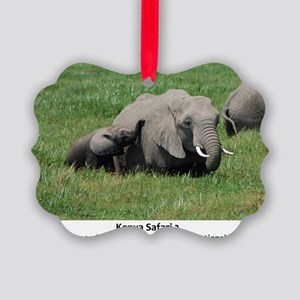 Kenya 2 Cover 2 Picture Ornament