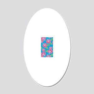 tropical_1_pod3G 20x12 Oval Wall Decal