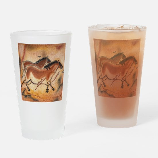 cave-drawing-1 Drinking Glass