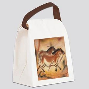 cave-drawing-1 Canvas Lunch Bag