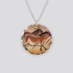 cave-drawing-1 Necklace Circle Charm