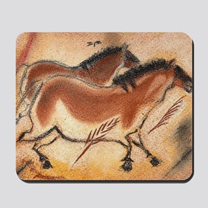 cave-drawing-wide Mousepad