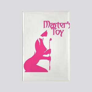 Pink Toy Rectangle Magnet