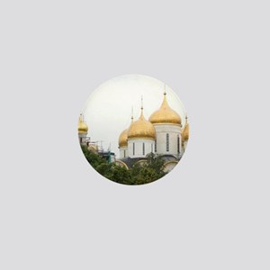 Russia, Moscow, The Kremlin. (RF) Mini Button