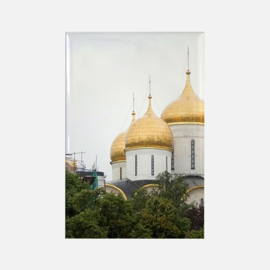Russia, Moscow, The Kremlin. (RF) Rectangle Magnet