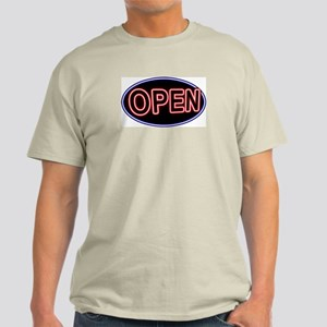 Neon Open (Oval) Light T-Shirt