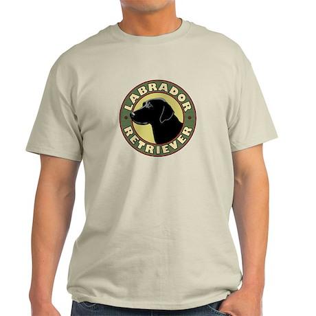 Black Lab Crest - Light T-Shirt